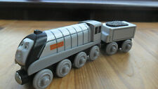 Thomas Tank Engine & Friends Wooden Train - SILVER SPENCER - POST DISCOUNTS!