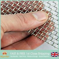 #6 Heavy Duty Stainless Steel Mesh - 3.33mm Hole - 0.9mm Wire -1 x 1.2m Roll