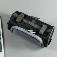 Oxford Cloth Bike Cycling Handlebar Bag Bicycle Front Storage Bag w/ Touchscreen