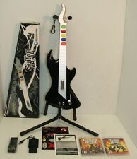 """PS3! """"SHREDDER"""" *TAC* Wireless Guitar Hero, DONGLE, USB Adapter,New Strap,Game"""