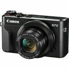 Canon G7x Mark II Powershot Digital Camera G7 x 20.1 Mp Black Compact Zoom