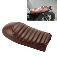 Brown Hump Custom Cafe Racer Seat Vintage Saddle For Honda CB100 CB500T CL360 GN