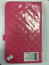 Samsung Galaxy Tab 3 8.0 Plaid Leather Case Pink ALC6516-147 Brand New Original