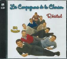 Les Compagnons de la Chanson - 50 Succès - Récital    2CD