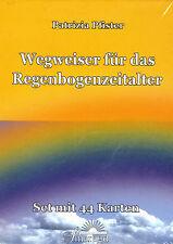 WEGWEISER FÜR DAS REGENBOGENZEITALTER - Patrizia Pfister KARTENSET - NEU OVP