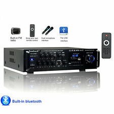 Powerful 2000W 110V Digital Bluetooth Stereo Audio Power HiFi Amplifier