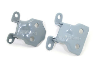 2 LH DOOR HINGES HINGE UP AND LOW FOR TOYOTA HILUX MK2 LN50 PICKUP 1984 - 1988