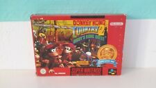 Donkey Kong Country 2 +OVP+Anleitung Super Nintendo PAL Snes boxed cib Rot Red