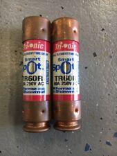 Ferraz Shawmut Trionic Smart Spot Fuse TR60R 60A 250 V Lot of 2