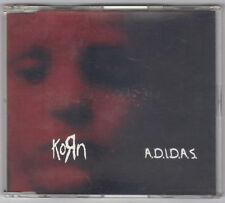 RARE !!!  CD MAXI SINGLE KORN : ADIDAS  [5 remixes] 1997 EPC 6640535