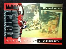 MICHAEL JORDAN 1993-94 Upper Deck TRIPLE DOUBLE HOLOGRAM Bulls