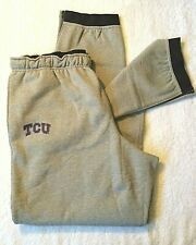 OuterStuff NCAA Boys Youth TCU Horned Frogs Basic Grey Track Pants