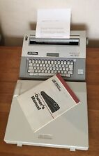 More details for smith corona xd 4600 correcting memory typewriter spell right cover and manual