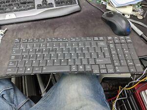 Toshiba Satellite L350 L350D L350-171 NSK-TBAOU UK keyboard working GENUINE