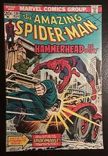 AMAZING SPIDER-MAN #130 VF+ WHITE pgs! VALUE STAMP HAMMERHEAD S-MOBILE! GORGEOUS