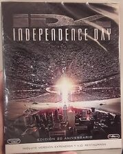 INDEPENDENCE DAY 20 ANIVERSARIO BLU-RAY BLURAY NUEVO WILL SMITH