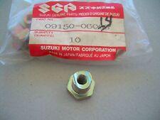 09150-06014 NOS Suzuki rear brake arm nut DS80 LS650 LT-F160 VS800 GZ250 DR200 +