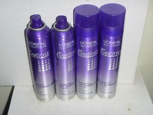 (4 pack) ~ Loreal Hair Expertise Everstyle Energizing Dry Shampoo 3.4 Oz