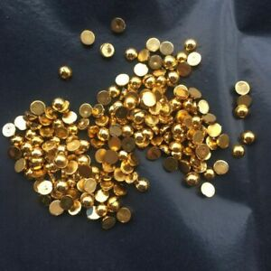 100pcs-200pcs Pearl Beads Half Round Flatback Resins DIY Nail Arts Decorations