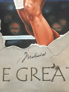 """Muhammad Ali Signed L/E Giclee Canvas 30""""x38"""" (#23/96)  - Extremely RARE"""