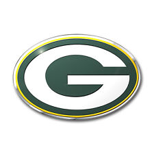 Team ProMark NFL Green Bay Packers Aluminum Color Car Truck Emblem Sticker Decal