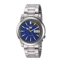 Seiko 5 Automatic Blue Orange Speedometer Dial Mens Watch SNKK27K1 RRP £169