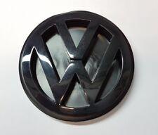 Original VW T4 Transporter Bundeswehr Emblem Heckklappe Schwarz Satinschwarz