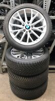 4 BMW Winterräder Styling 380 205/50 R17 1er F20 F21 2er F22 Goodyear RDCi TOP