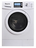 """Magic Chef MCSCWD20W3 2.0 Cu Ft 24"""" Wide Combo Washer Dryer Ventless 115 Volts"""