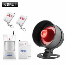 Wireless Loud Voice Sound&Flash Siren Alarm System for Home Burglar Security Lot