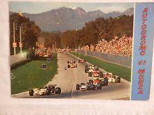 Vecchia foto cartolina d epoca dell Autodromo di Monza auto da corsa circuito di