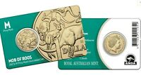 2017 MOB OF ROOS M Privymark Melbourne Money Expo Coin on Card
