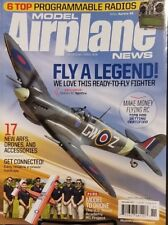 Model Airplane News Nov 2017 Fly A Legend Motion RC Spitfire FREE SHIPPING mc