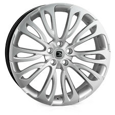 "22"" Land Rover Evoque Freelander 2 Alloy Wheels hawke halcyon silver"