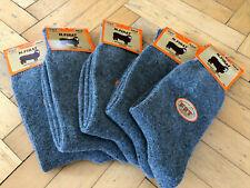 Turkish Pure Merino Wool Seamless Men Gray Socks *Winter* 5 Pairs Pack