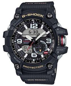 Casio G-Shock Black Twin Sensor Mudmaster GG1000-1A GG-1000-1A
