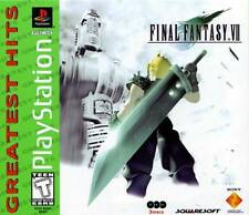Final Fantasy VII - PS1 PS2  Complete Playstation Game