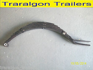 9 leaf eye slipper spring 1600kg rating camper trailer caravan SP19