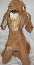 VINTAGE LUCKY TOY  COMPANY OF BROOKLYN NEW YORK  HUGE PLUSH DOG