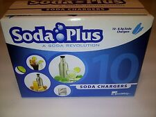 20 CO2 New 8g SODA PLUS chargers 8 gram C02 cartridges carbonated seltzer water