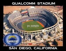 San Diego - Qualcomm Stadium - Chargers - Flexible Fridge Magnet