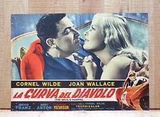 LA CURVA DEL DIAVOLO fotobusta poster The Devil's Hairpin Car Race Driver BV5