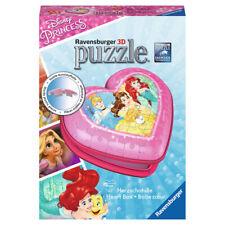 Ravensburger Disney Princess - 3D 72 Piece Heart Shaped Jigsaw Puzzle