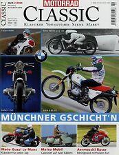 Motorrad Classic 2004 2/04 Maico Mobil Aermacchi BMW R 75/5 80 G/S Münch TTS Z1R