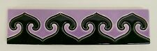 Vintage Border Tile with Repeating Pattern Germany