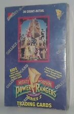 ?1994 Collect A Card Corp Power Rangers Series 2 Factory Sealed Box 36 Packs ?