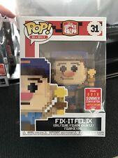 Funko Pop! Wreck-It Ralph Fix-It Felix SDCC San Diego Exclusive Protector 8 Bit