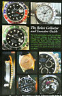 The Rolex Collector Watch Guide Book Submariner Daytona Explorer GMT Bubbleback