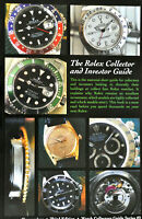 The Rolex Collector Watch Guide Book Submariner Daytona Explorer GMT Bubbleback