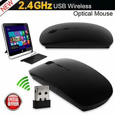 Mini Wireless Mouse 2.4ghz Optical Scroll for Computer PC Laptop USB Dongle Bt30